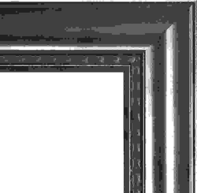 Antieke Spiegel Zilver 71x91 cm - Gunda