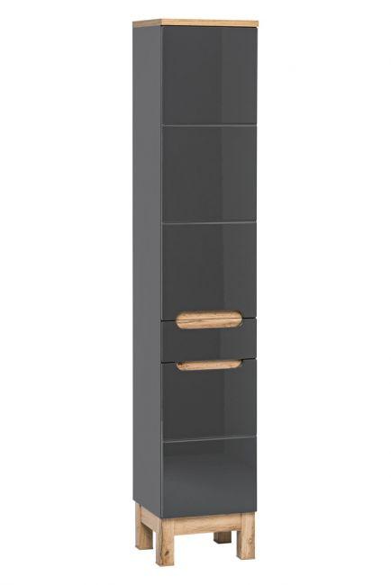 Badkamer Meubelset 80 cm Grijs Eiken - Bloom