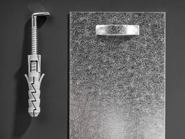 Badkamerspiegel Zilver 83x69 cm - Chayenna