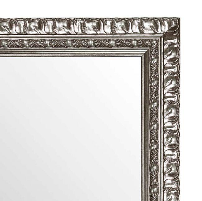 Brocant Zilveren Spiegel 52x102 cm - Eliza