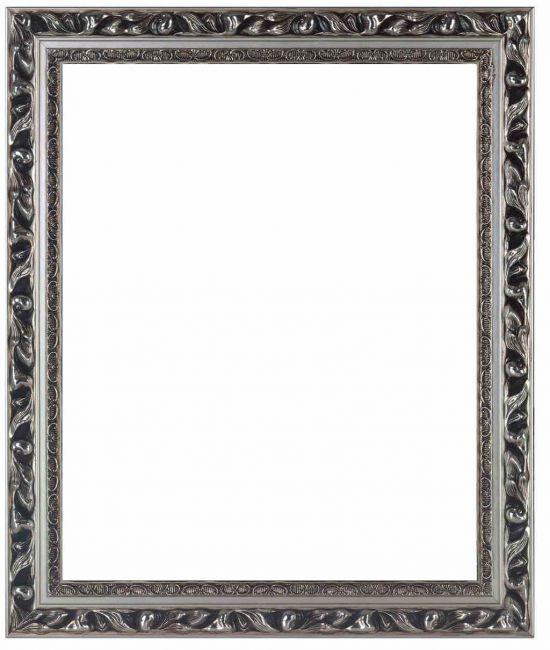 Brocante Spiegel Zilver 48x68 cm - Paola