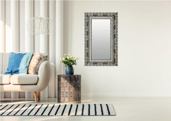 Chique Brocante Spiegel Zilver 50x100 cm - Ashanti