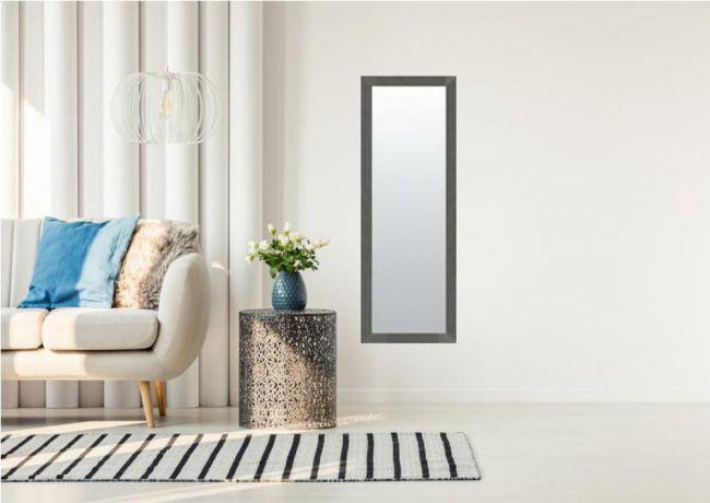 Design Spiegel Antraciet 49x139 cm - Carla