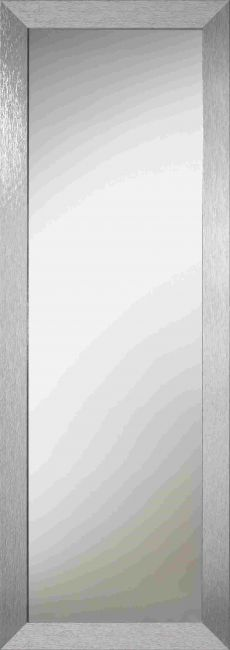 Design Spiegel Zilver 40x90 cm - Carla