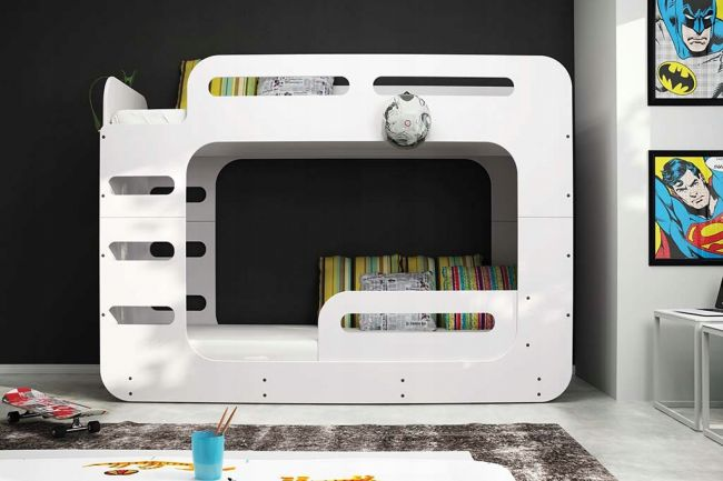Design Stapelbed 2 persoons - ´Design Life White'