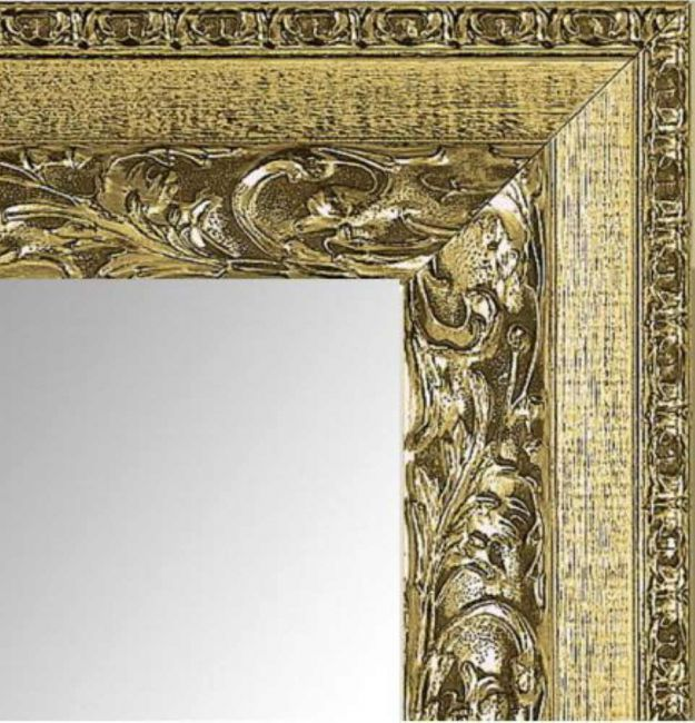 Gouden Spiegel Brocant 62x152 cm - Romy