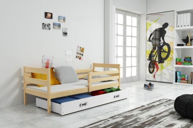 Kinderbed met uitschuiflade Hout 90x190 cm - ´Rookie Woody Wood´