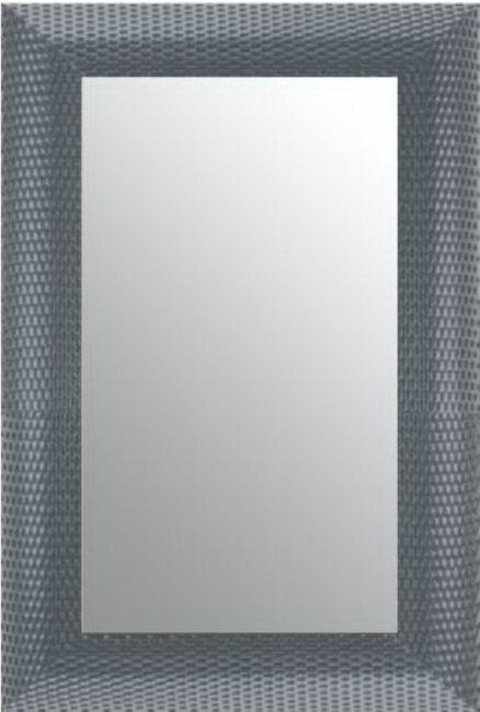 Moderne Spiegel Zilver 54x74 cm - Zoe