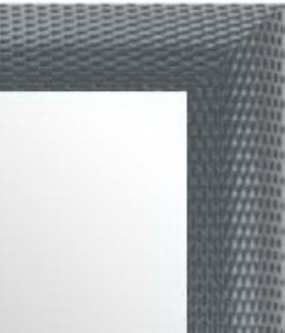 Moderne Spiegel Zilver 57x147 cm - Zoe