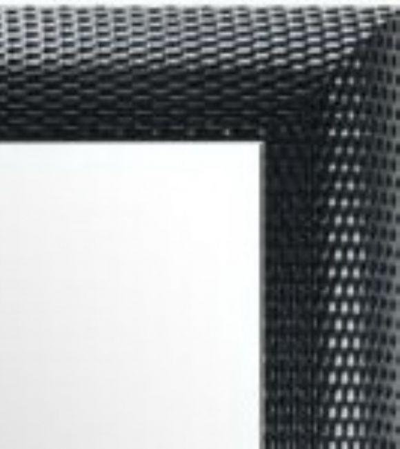 Moderne Spiegel Zwart Zilver 65x85 cm - Zoe