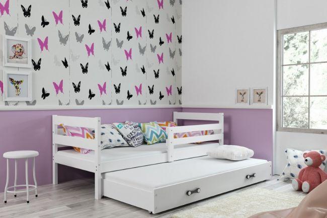Onderschuifbed Wit 90x200 - `Sleep Life White'