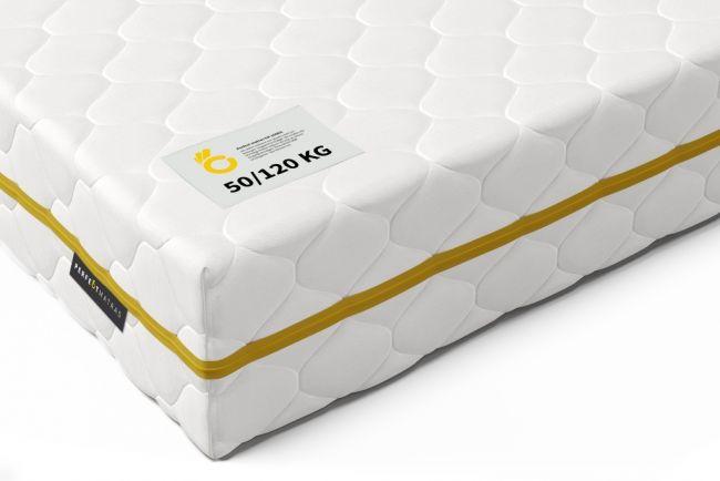 Pocketvering Matras tot 120 kg 80x210 cm