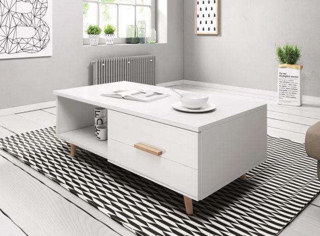 Salontafel Wit Scandinavisch Design
