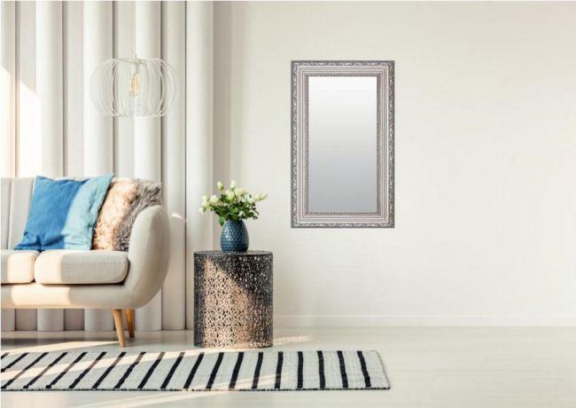 Spiegel Barok Zilver 56x146 cm - Filiz