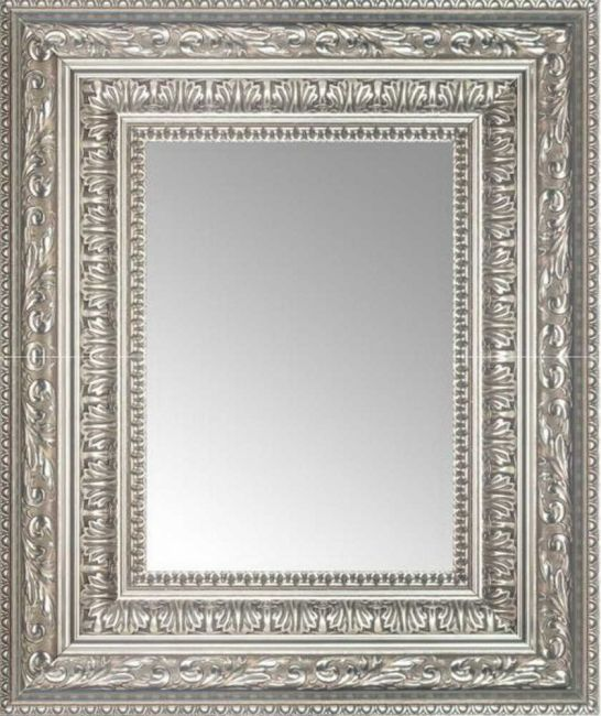 Barok Spiegel Zilver 73x93 cm - Kali
