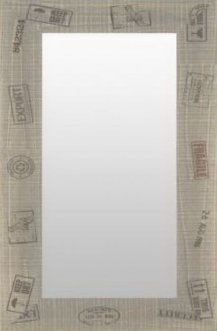 Spiegel Grijs 55x75 cm - Nala