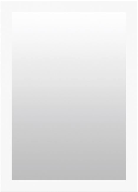 Spiegel Mat Wit 57x77 cm - Nina