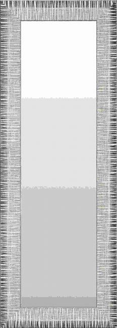 Spiegel Modern Bruin & Creme 48x98 cm - Hermine