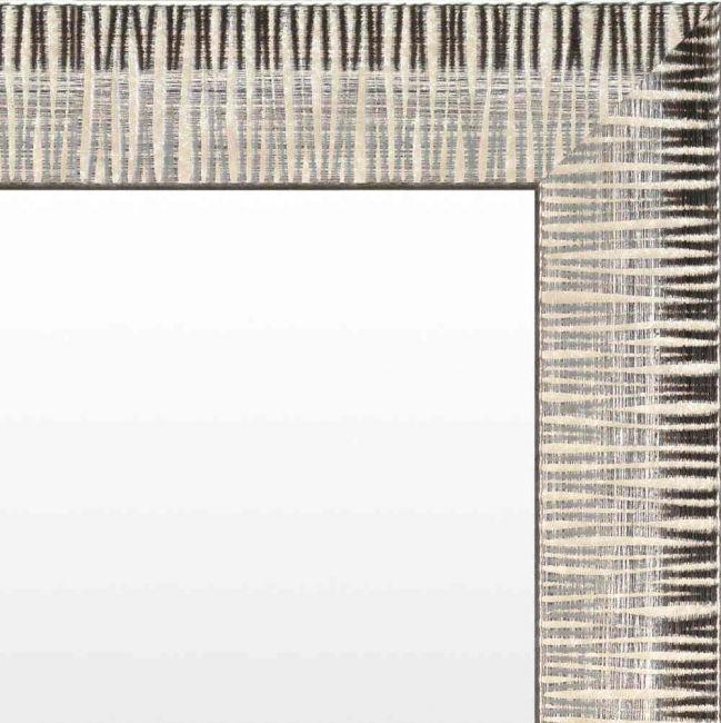 Spiegel Modern Bruin & Creme 54x74 cm - Hermine