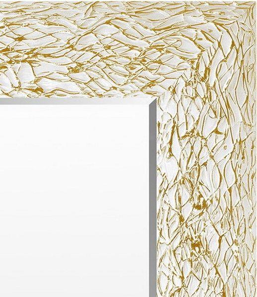 Spiegel Wit & Goud 48x98 cm - Calla