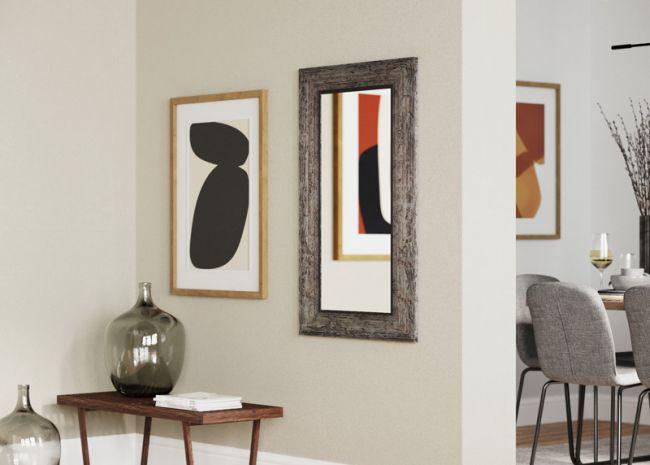 Vintage Spiegel Zwart Zilver 50x100 cm - Marlene