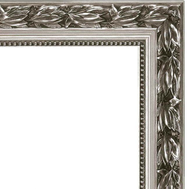 Zilveren Spiegel Barok 49x69 cm - Birte