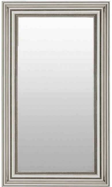 Zilveren Spiegel Chique 68x108 cm - Pria