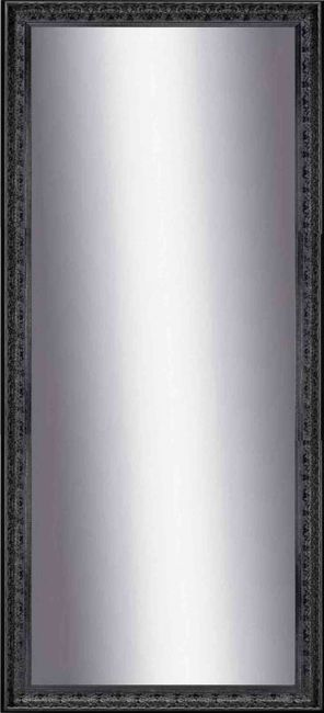 Zwarte Spiegel 54x144 cm - Saskia