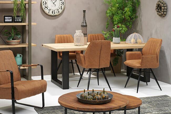 Fleur je woonkamer op met een hippe fauteuil!