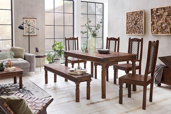 Landelijke eetkamerstoelen voor ieder interieur