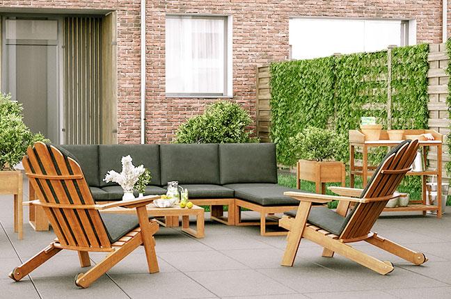 Bij ons kun je kiezen uit de mooiste tuinmeubelsets!