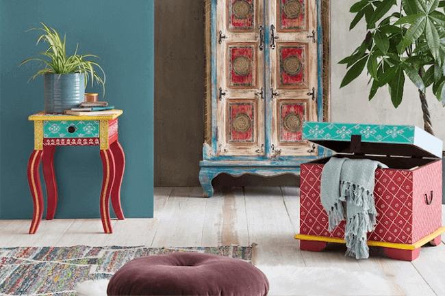 Een vintage salontafel maakt je interieur af!