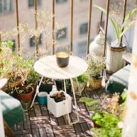 Balkon inrichting